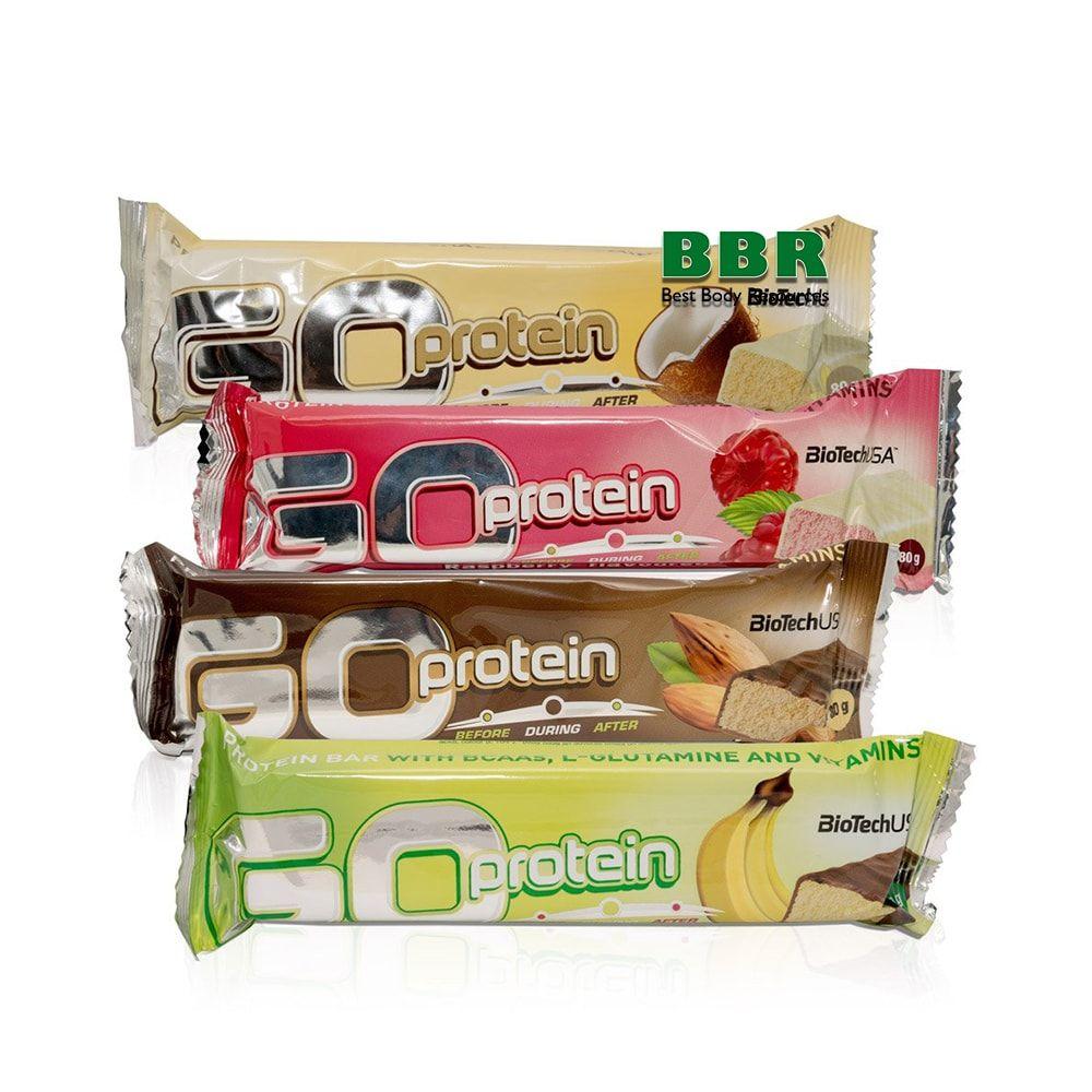Go Protein Bar 80g, BioTech