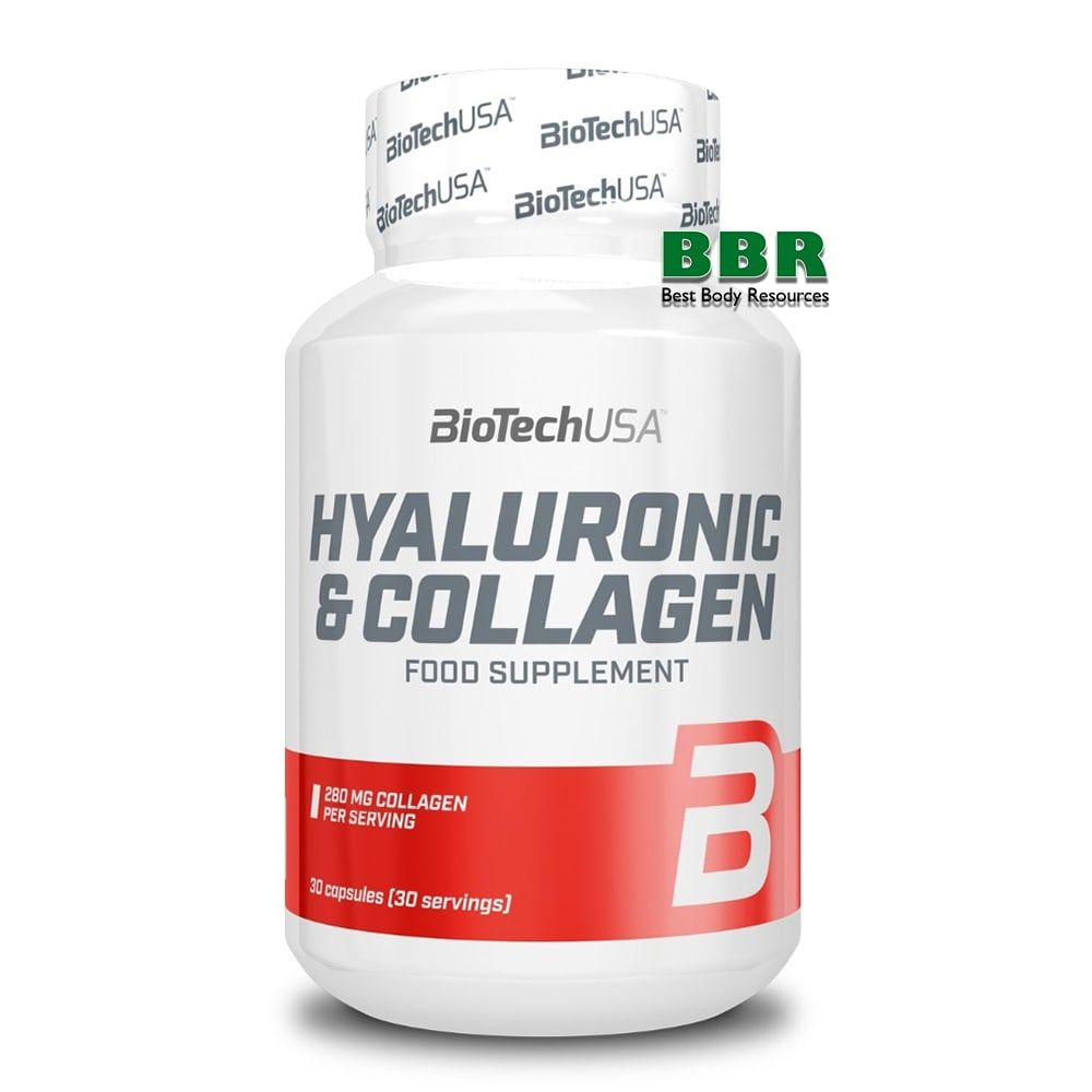 Hyaluronic Collagen 30 caps, BioTech