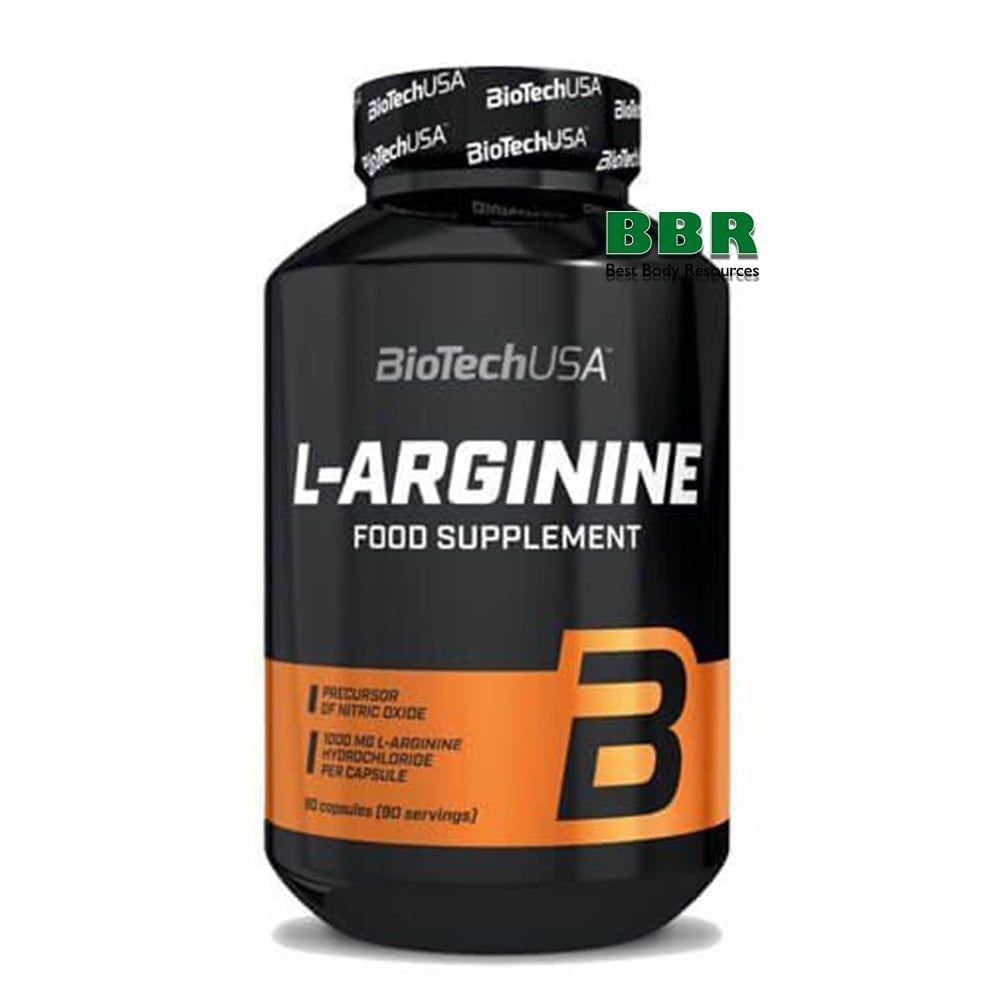 L-Arginine 90caps, BioTech