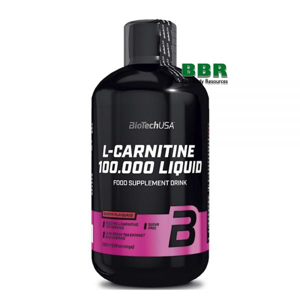 L-carnitine 100.000 Liquid 500ml, BioTech