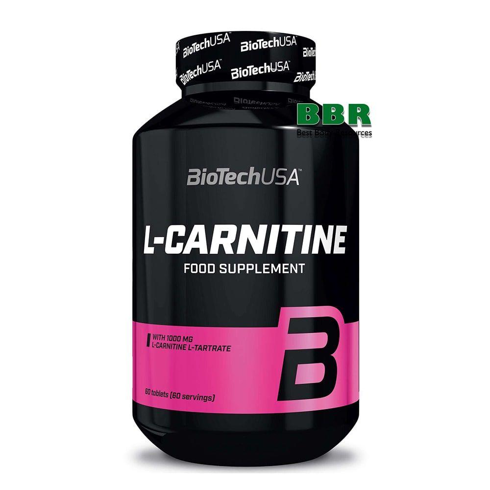 L-carnitine 1000 60tab, BioTech