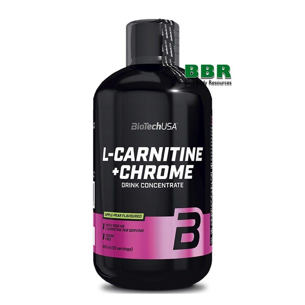 L-carnitine 35.000 + Chrome Liquid 500ml, BioTech