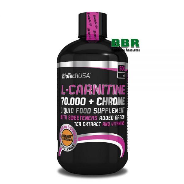L-carnitine 70.000 + Chrome Liquid 500ml, BioTech