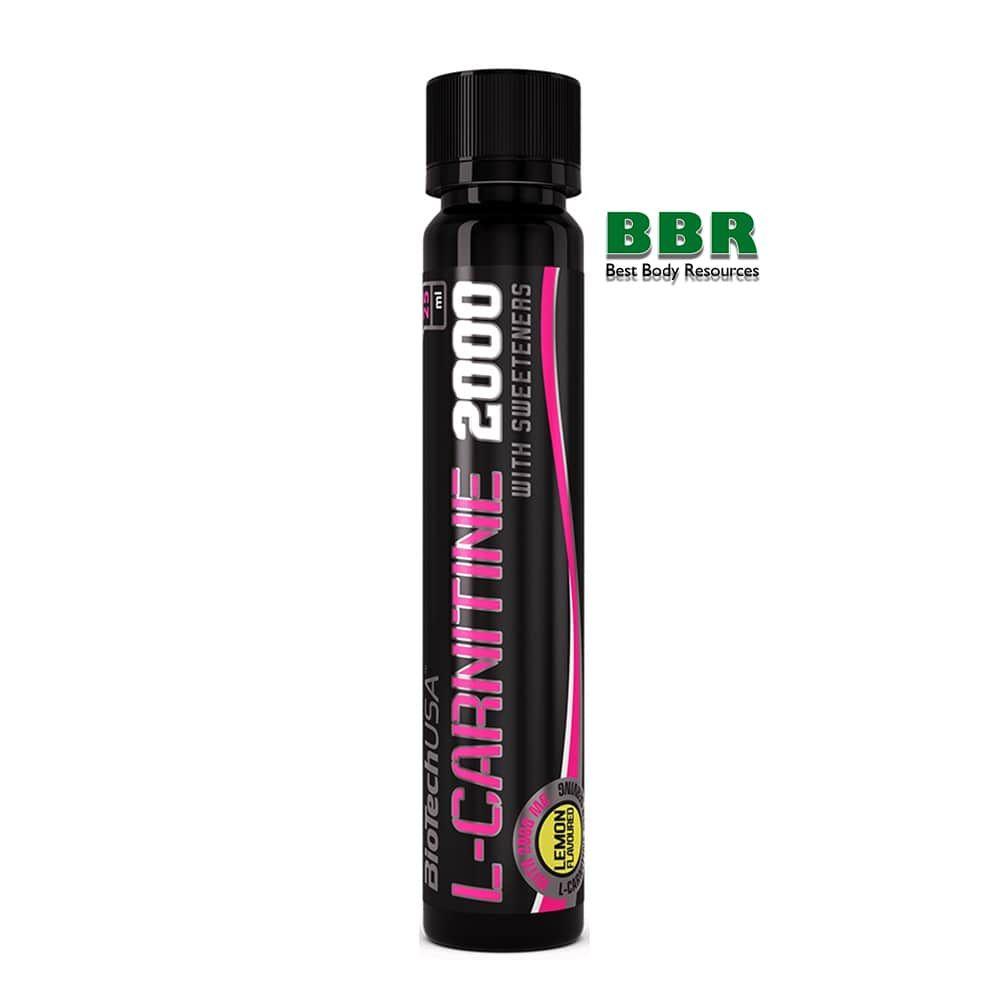 L-carnitine ampule 2000 (1x25ml), BioTech