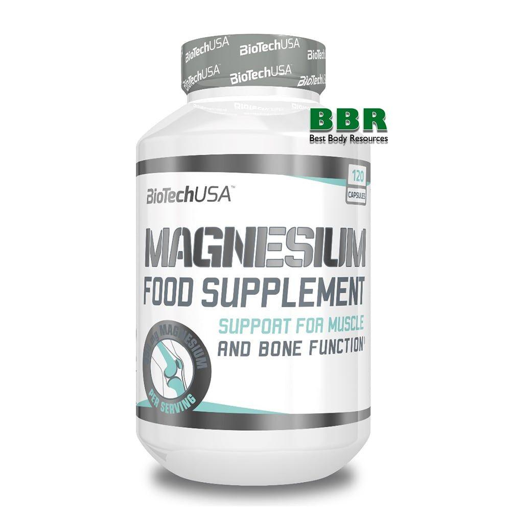 Magnesium 120caps, BioTech