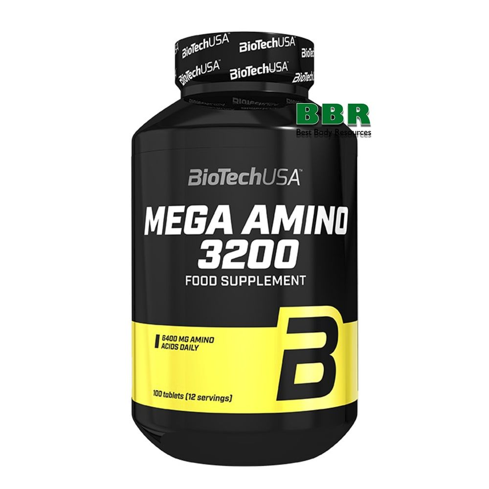 Mega Amino 3200 100tab, BioTech