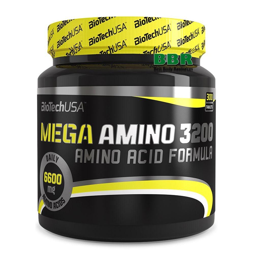 Mega Amino 3200 300tab, BioTech