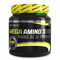 Mega Amino 3200 300 Tabs, BioTechUSA