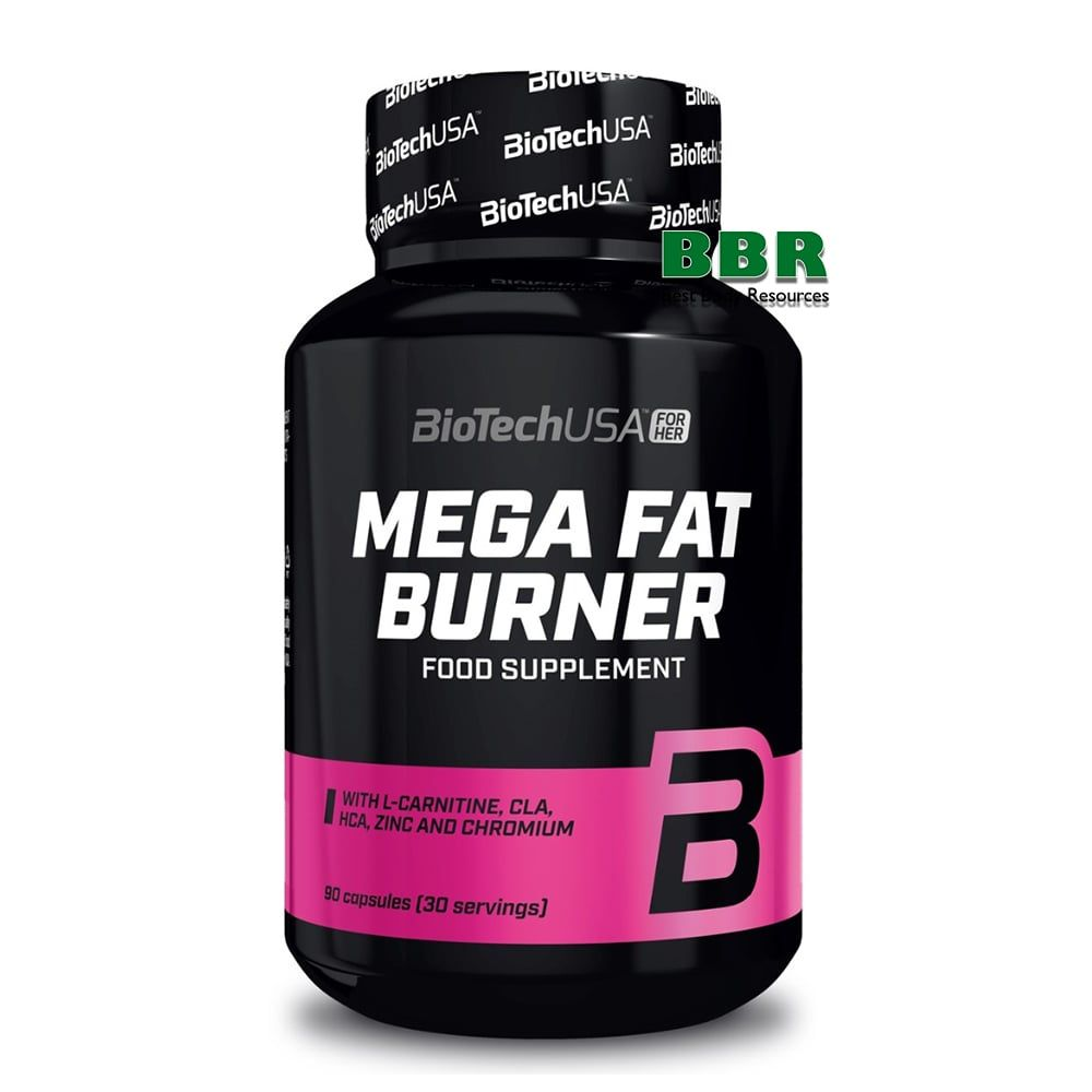Mega Fat Burner 90tab, BioTech