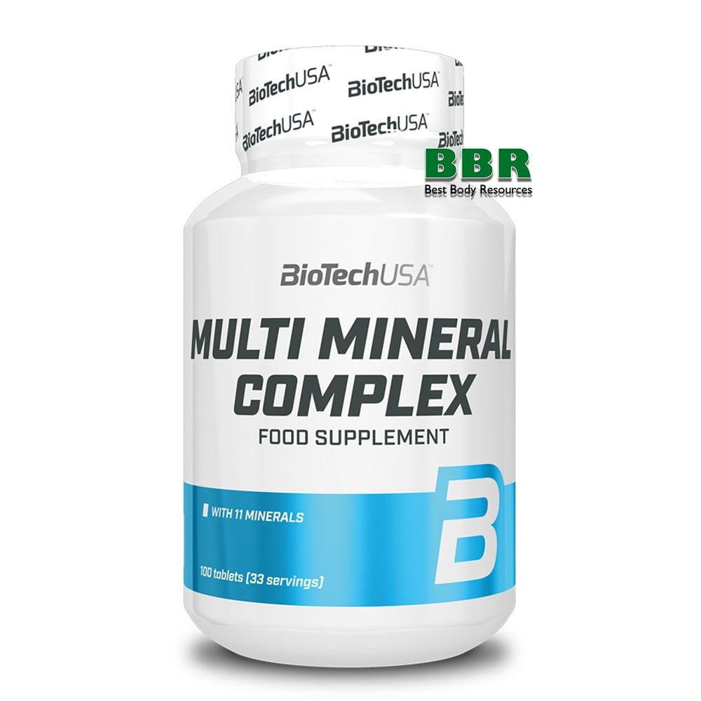 Multimineral Complex 100tab, BioTech