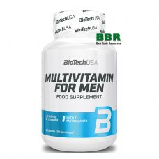 Multivitamin for Men 60 Tabs, BioTechUSA