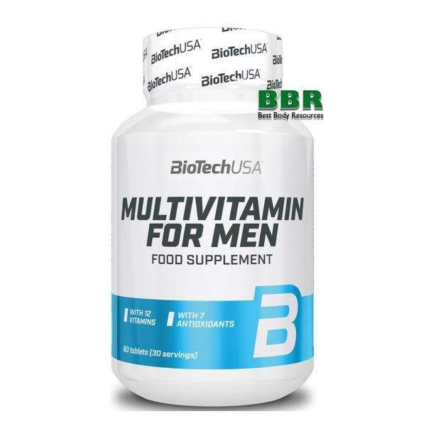 Multivitamin for Men 60tab, BioTech