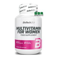 Multivitamin for Women 60 Tabs, BioTechUSA