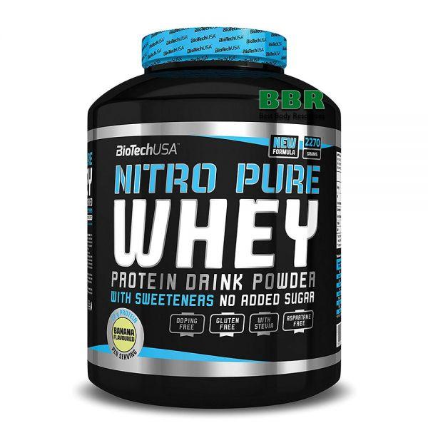 Nitro Pure Whey 2270g, BioTech