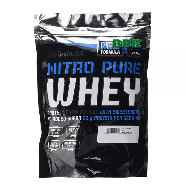 Nitro Pure Whey 454g, BioTech
