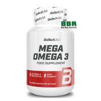 Mega Omega 3 90 Caps, BioTechUSA