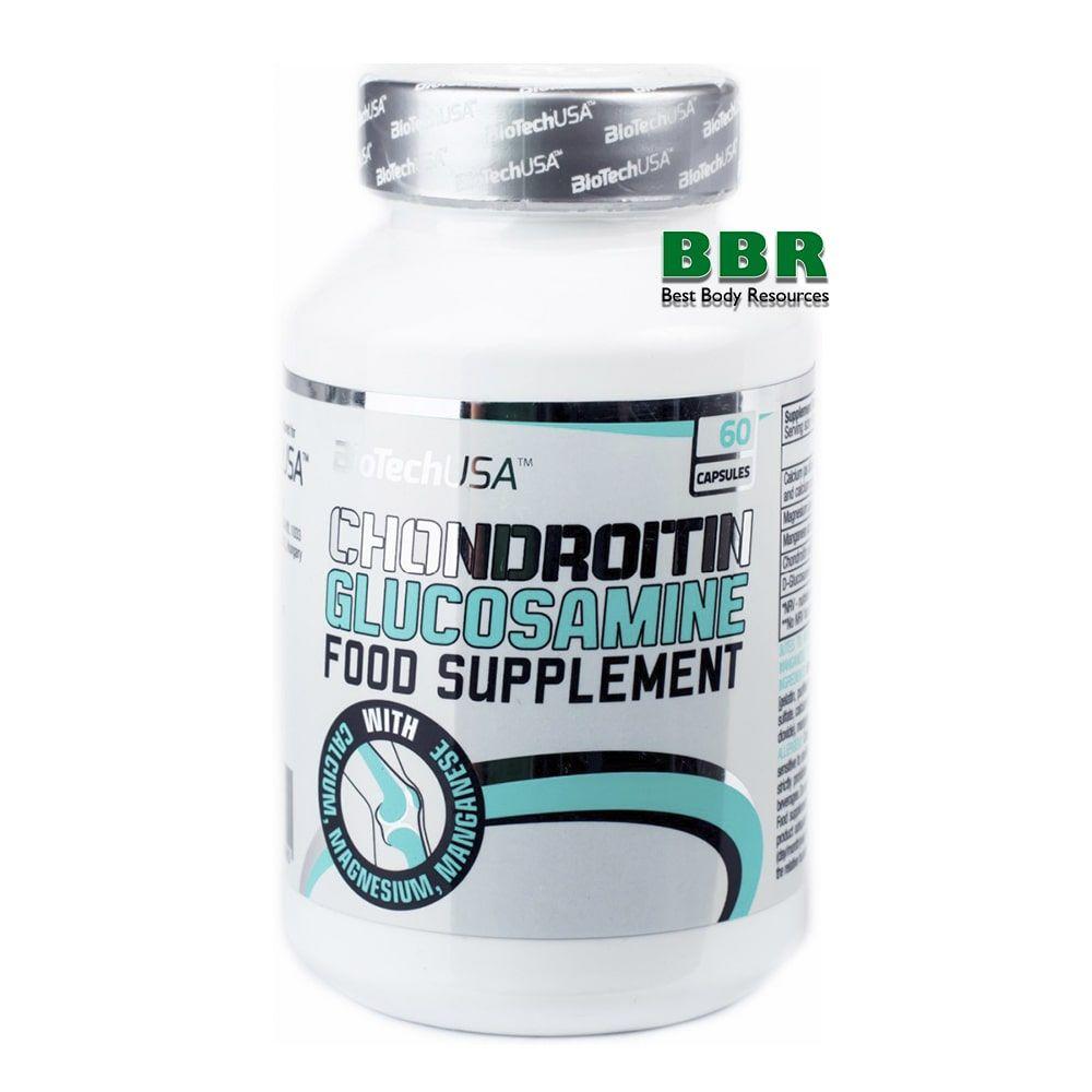 Chondroitin Glucosamine 60caps, BioTech