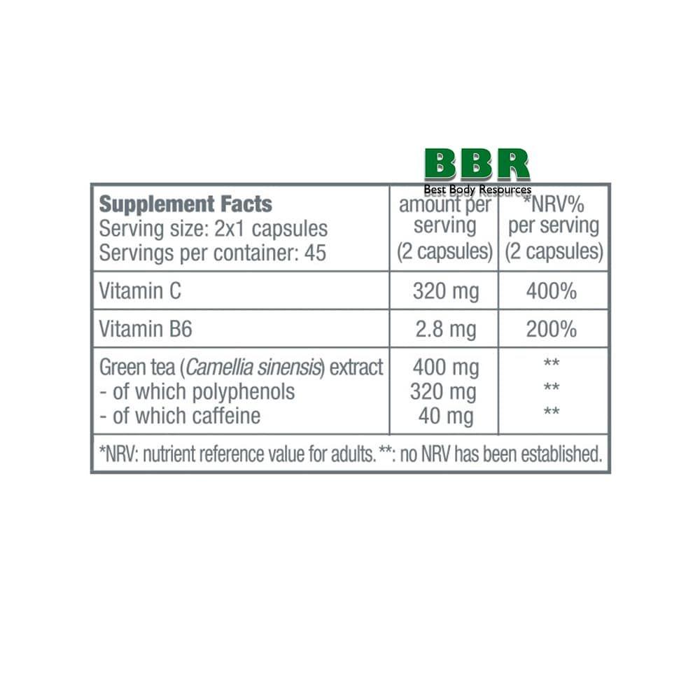 Green Tea Focus 90caps, BioTech