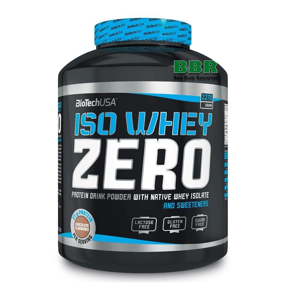 Iso Whey Zero Lactose Free 2270g, BioTech (USA)