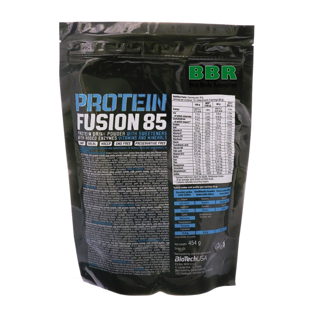 Protein Fusion 85 454g, BioTech