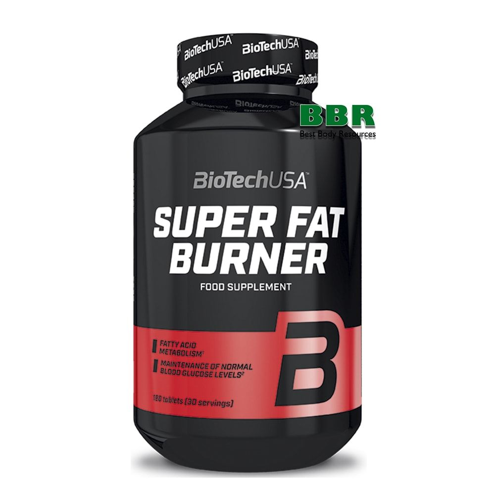 Super Fat Burner 120tab, BioTech