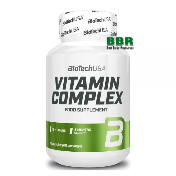 Vitamin Complex 60 Tabs, BioTechUSA