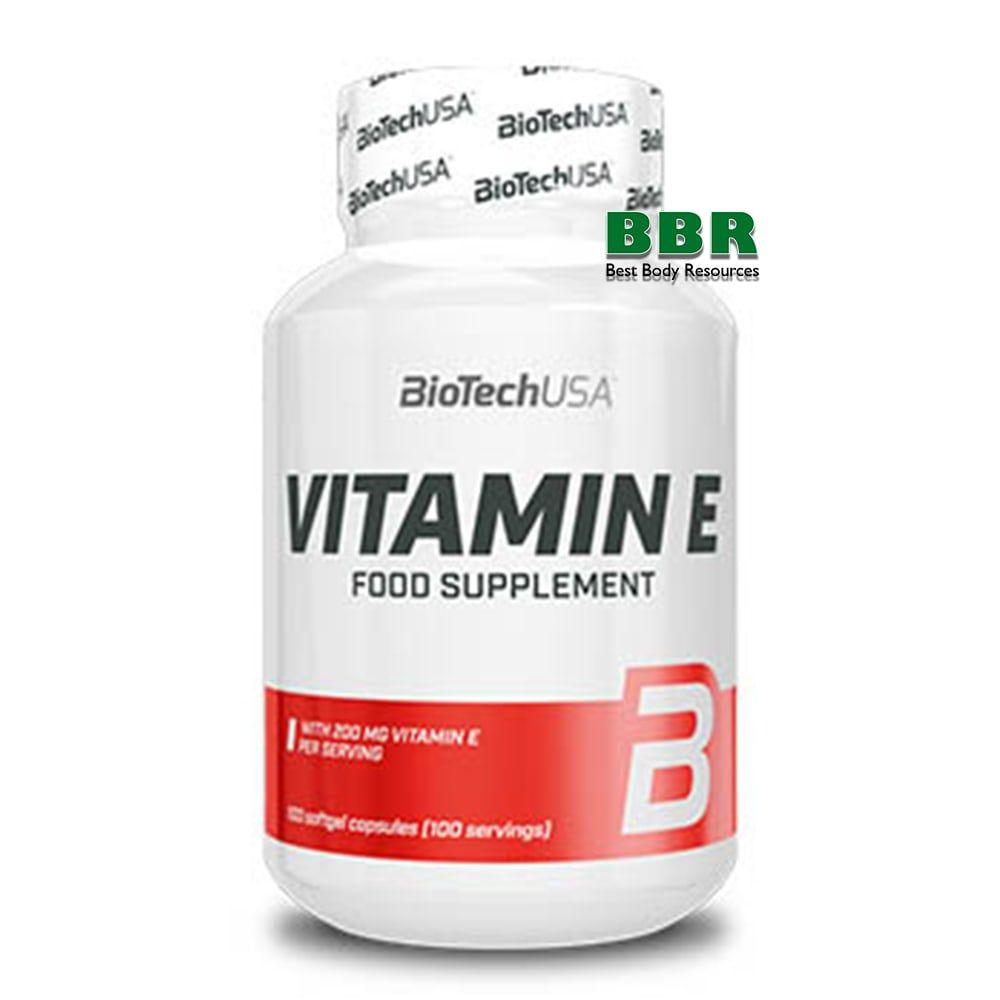 Vitamin E 100caps, BioTech