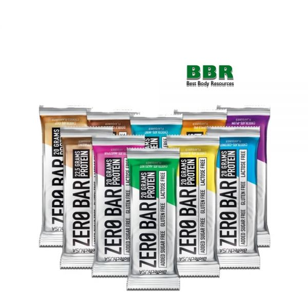 Zero Bar 50g, BioTech
