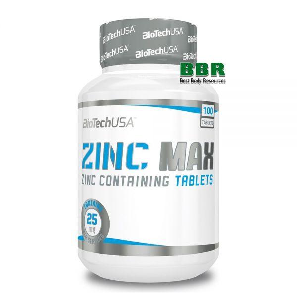Zinc Max 100tab, BioTech