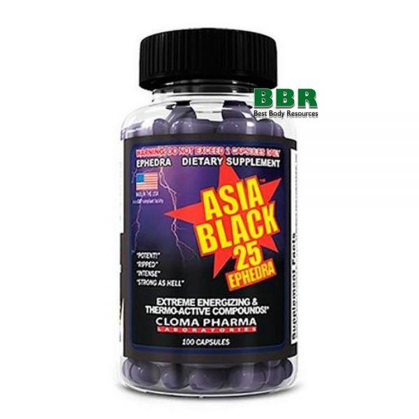 Asia Black 100caps, Cloma Pharma