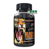 Black Tiger 100 Caps, Cloma Pharma