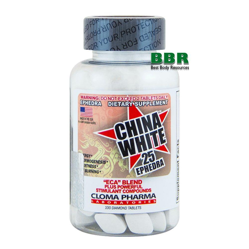 Chine White 100 Caps, Cloma Pharma