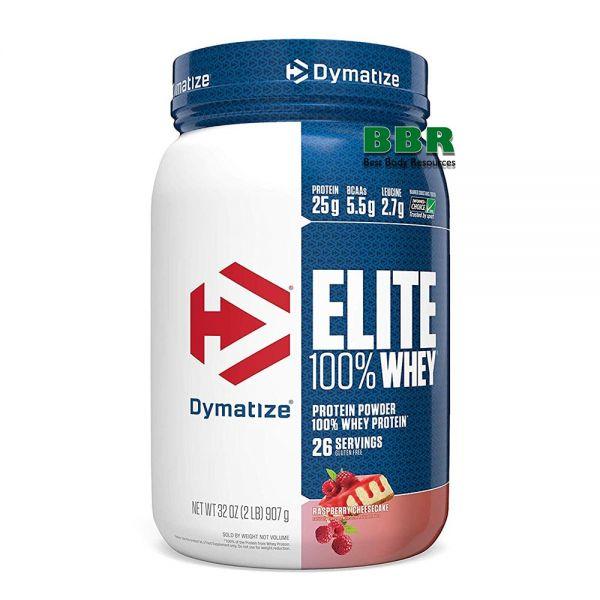 100% Elite Whey Protein 907g, Dymatize Nutrition