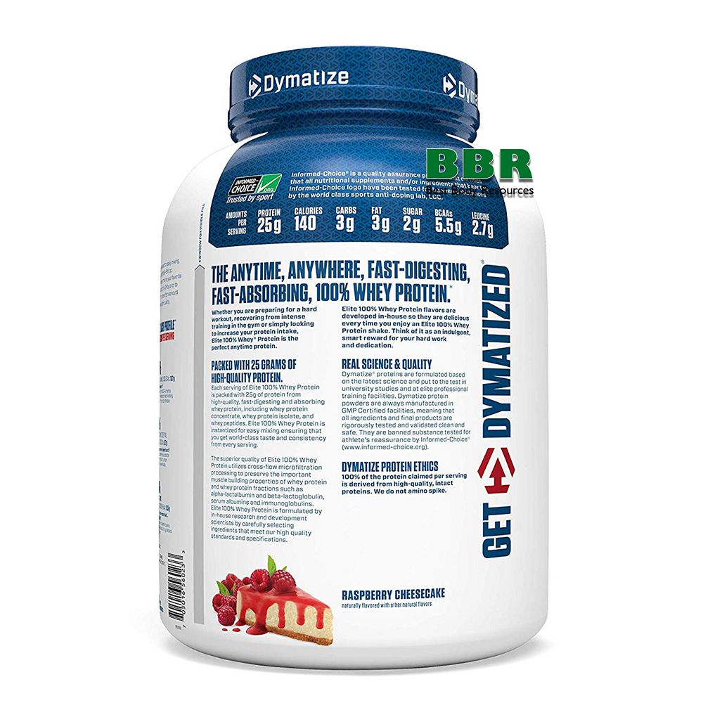 100% Elite Whey Protein 2270g, Dimatize Nutrition