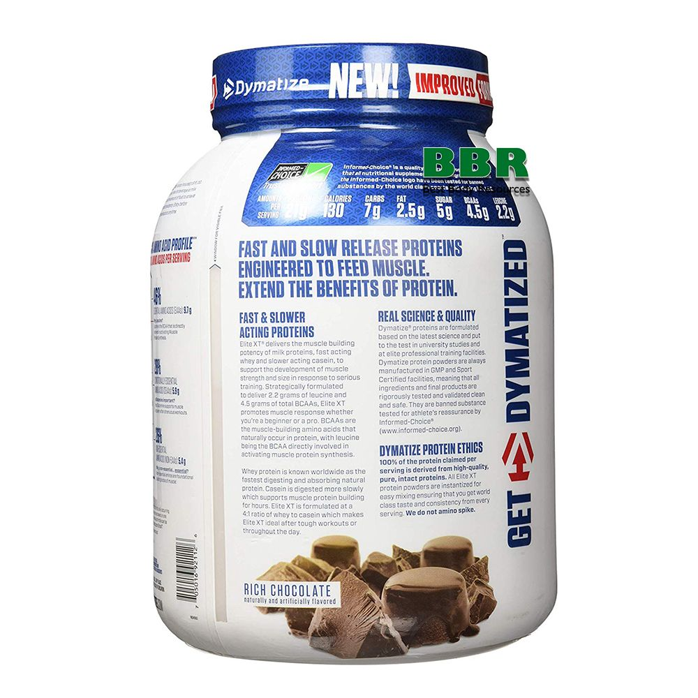 Elite XT 1814g, Dymatize Nutrition