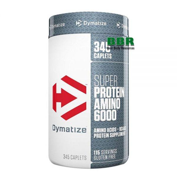 Super Amino 6000 345 Tabs, Dymatize Nutrition