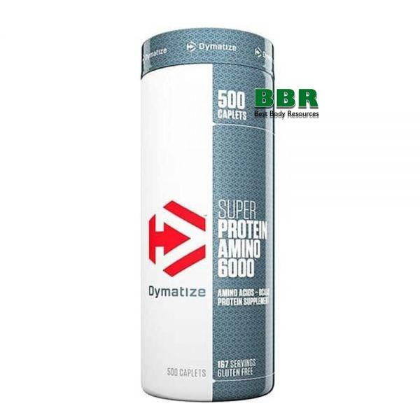 Super Amino 6000 500tab, Dymatize Nutrition