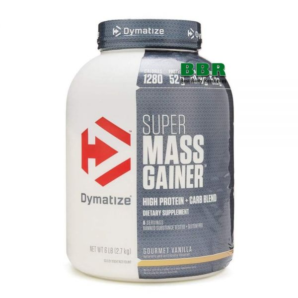 Super Mass Gainer 2.7kg, Dymatize Nutrition