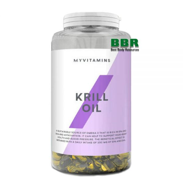 Krill Oil 90 softgels, MyProtein