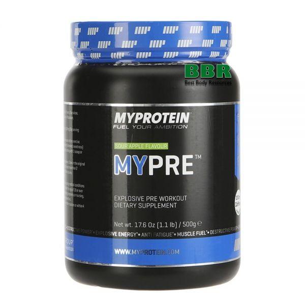MyPre 500g, MyProtein