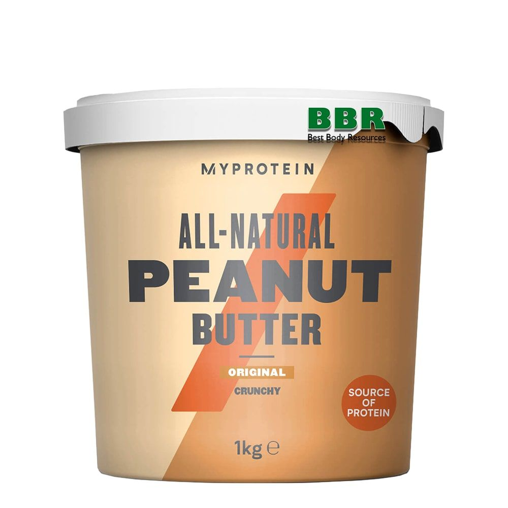Peanut Butter 1kg, MyProtein