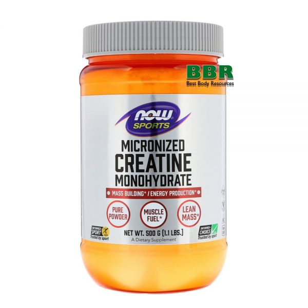 Creatine Monohydrate 500g, NOW Foods