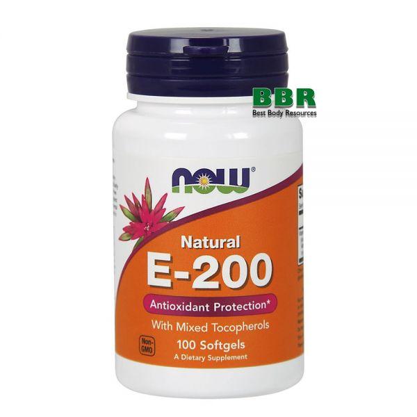 E-200 mixed 100 Caps, NOW Foods