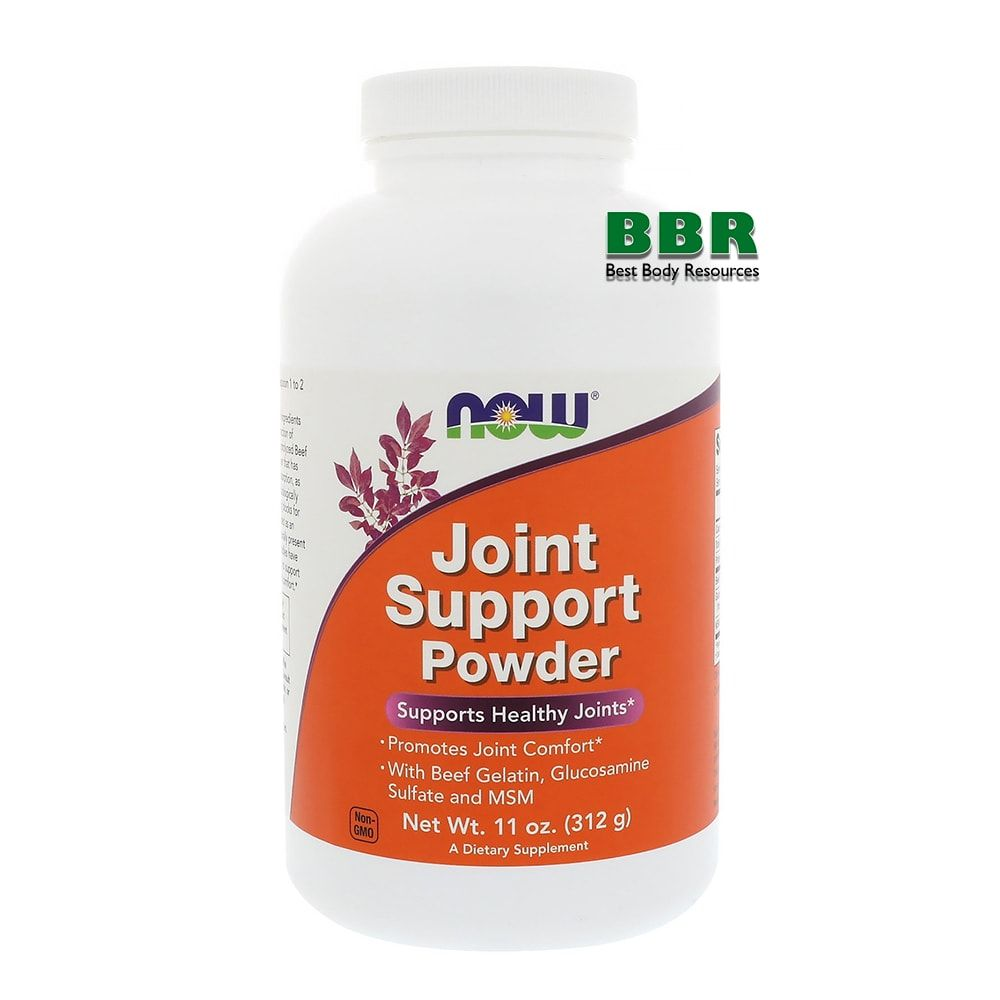 Joint Support Powder 312g, NOW Foods