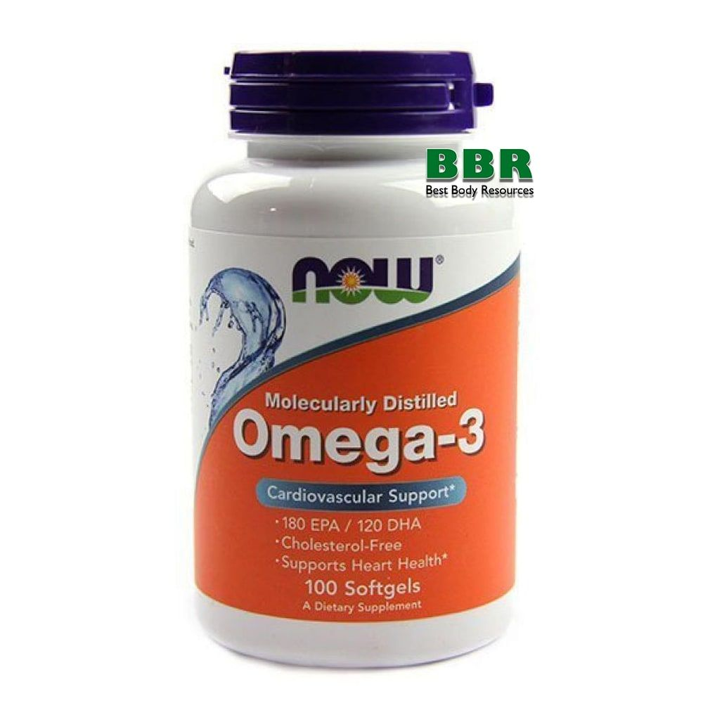 Omega 3 100 Caps, NOW Foods