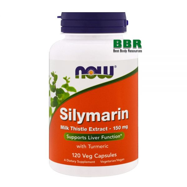 Silymarin 120 Veg Caps, NOW Foods