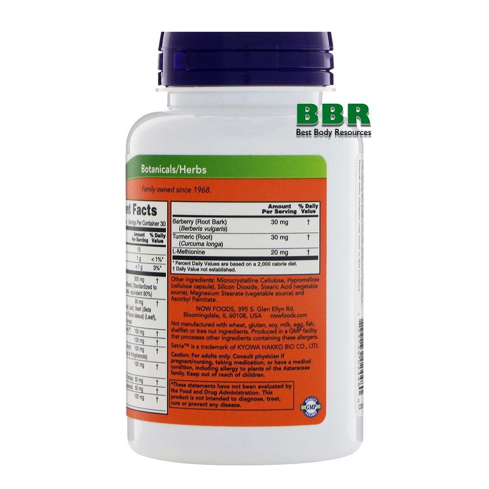 Liver Refresh 90 Caps, NOW Foods
