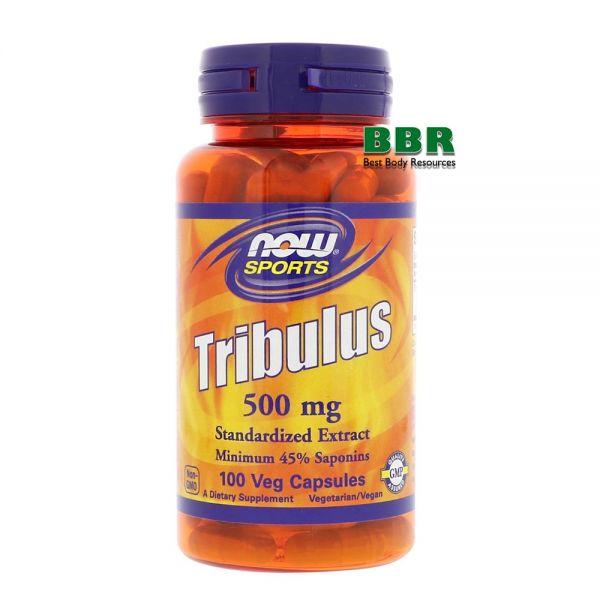 Tribulus 500mg 100 Caps, NOW Foods