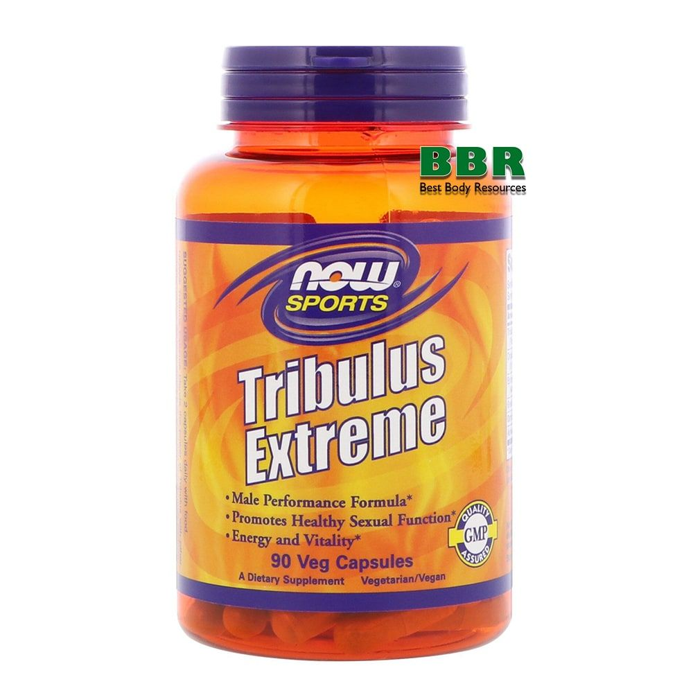 Tribulus Extreme 90 Caps, NOW Foods