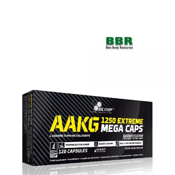 AAKG 1250mg Extreme Mega 120caps, Olimp Nutrition